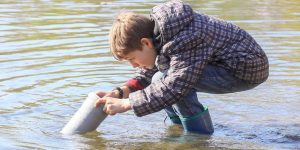 Heimische Fische unter der Lupe, Artikel von Marc Schüler,  Rüsselsheimer Echo vom 12. April 2019