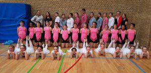 Erfolgreiche Teilnehme am Bundesentscheid Jugend trainiert für Olympia
