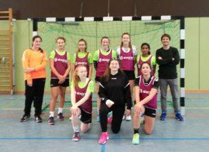 ADS-Handballerinnen und -Handballer gewinnen den Kreisentscheid